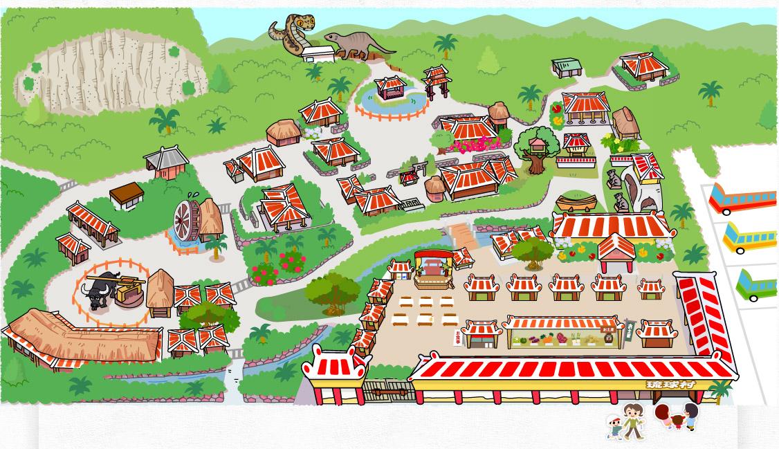 園裡面的地圖
