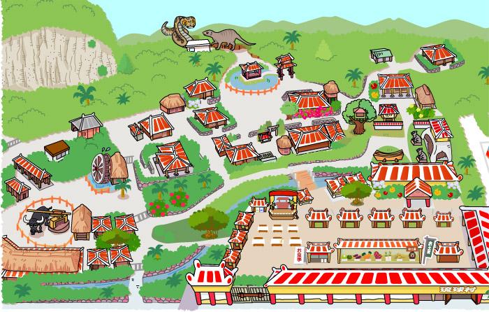园里面的地图