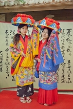 Real Ryukyu costumes for rent