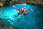 Blue cave Snorkeling tour go to by boat ((Japanese/English/Chinese ))