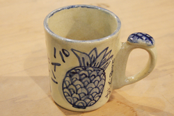 芸能・生活文化体験 Ceramic art painting Mug cup