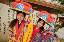 Traditional Ryukyu costumes for rent